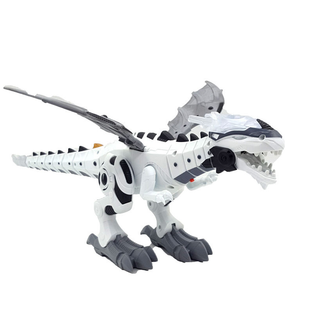 Electric interactive toys Talking And Walking Dragon Toy Fire Breathing Water Spray Dinosaur Christmas Fun Gift F323