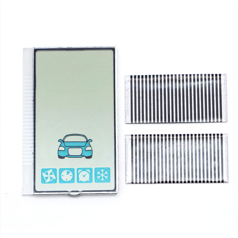 10PCS Car Two-way Alarm A93 LCD Remote Control LCD Display - Adapt To Starline A93 Use Zebra Paper LCD Screen