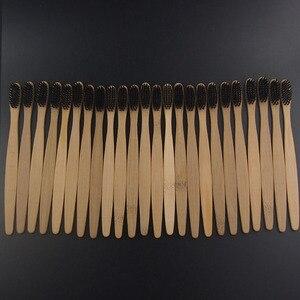 Image 5 - DR. PERFECT 100 шт./лот деревянная мягкая Экологически чистая бамбуковая язык зубная Щетка скребок уход за полостью рта мягкая щетина