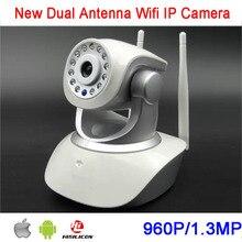 HS-6130-HD 64 ГБ P2P Вращающихся 960 P Двухстороннее Аудио Телефонных звонков Сигнализации Двойной Антенны Беспроводной Wi-Fi IP CCTV Камера бесплатная Доставка