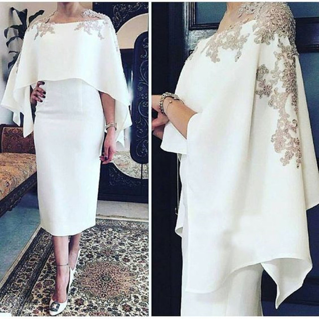 vestido de madrinha Mother of the Bride Dresses 2019 With Jack Two Pieces Lace Appliques Formal Mother Dress Wedding Guest Groom 1