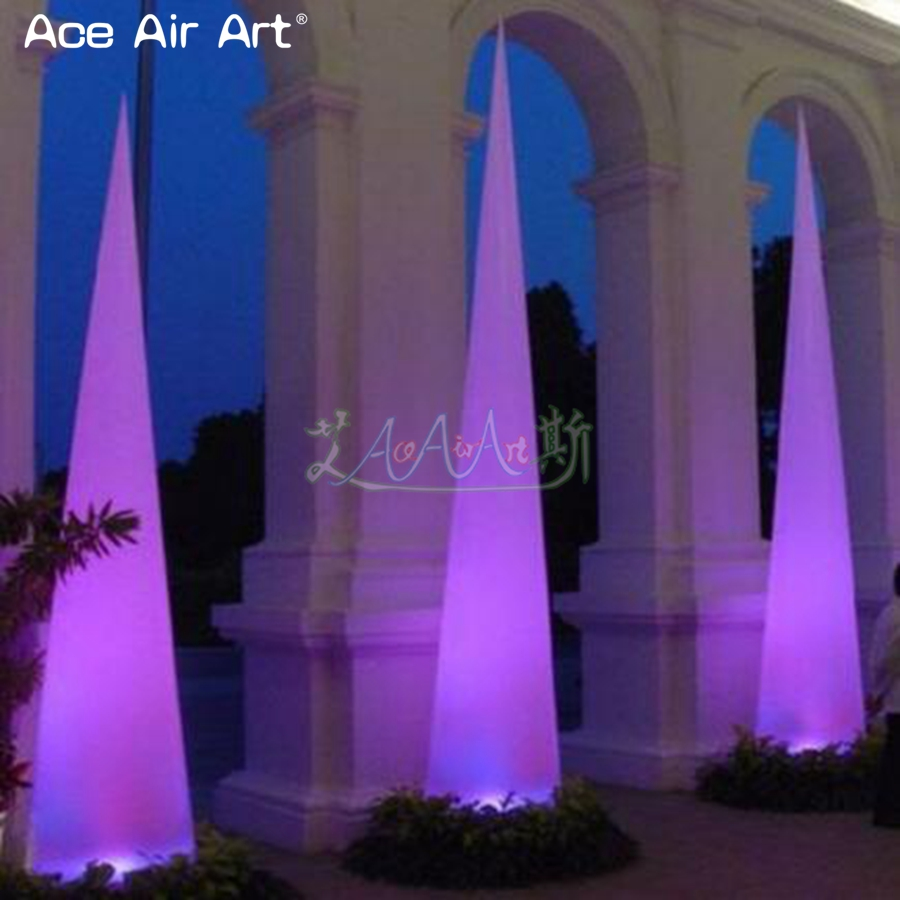 Popular Lighting Inflatable Cones,light Column Wedding