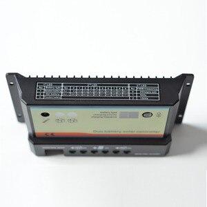 Image 4 - EPever controlador Solar de doble batería 20A 10A, 12V 24V, alta eficiencia, PWM, regulador de carga, Pantalla remota Opt, Cable de temperatura de MT 1