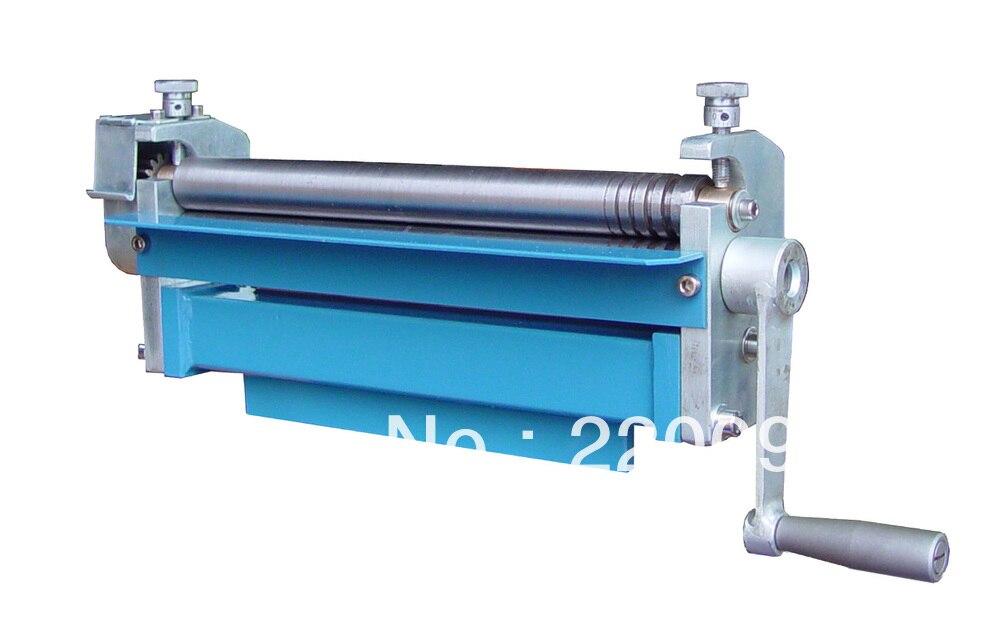 The Small Diy Manual Metal Sheet Roll Bending Machine In