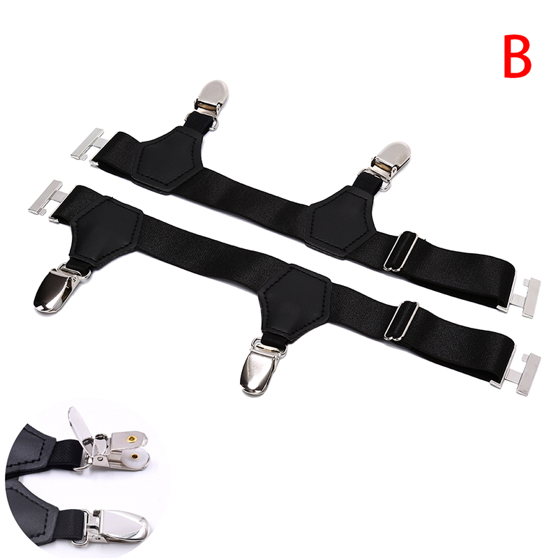 1 Pair Men Sock Garters 2.5CM Width Men's Suspenders Resistance Belt  Hombre Ajustables Sock Garters