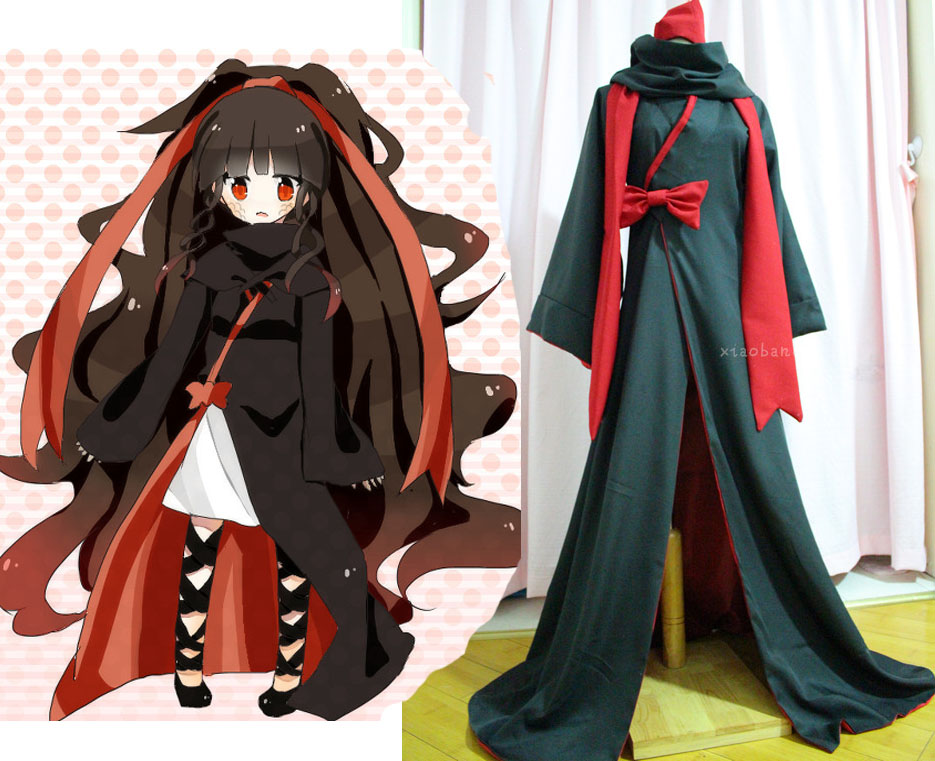 MekakuCity Actors Kagerou Project azami cosplay costume any size