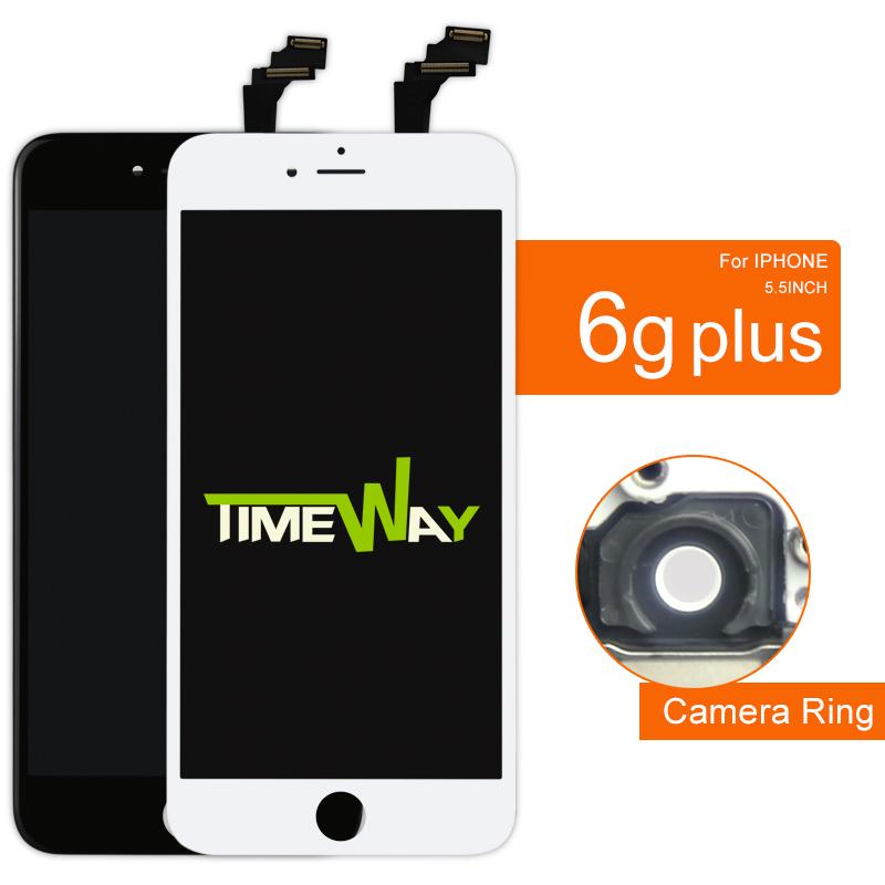 Prix pour Aaaa 5 pcs 5.5 lcd écran pour iphone 6 plus lcd dispaly écran tactile en verre digitizer assemblée alibaba chine highscreen