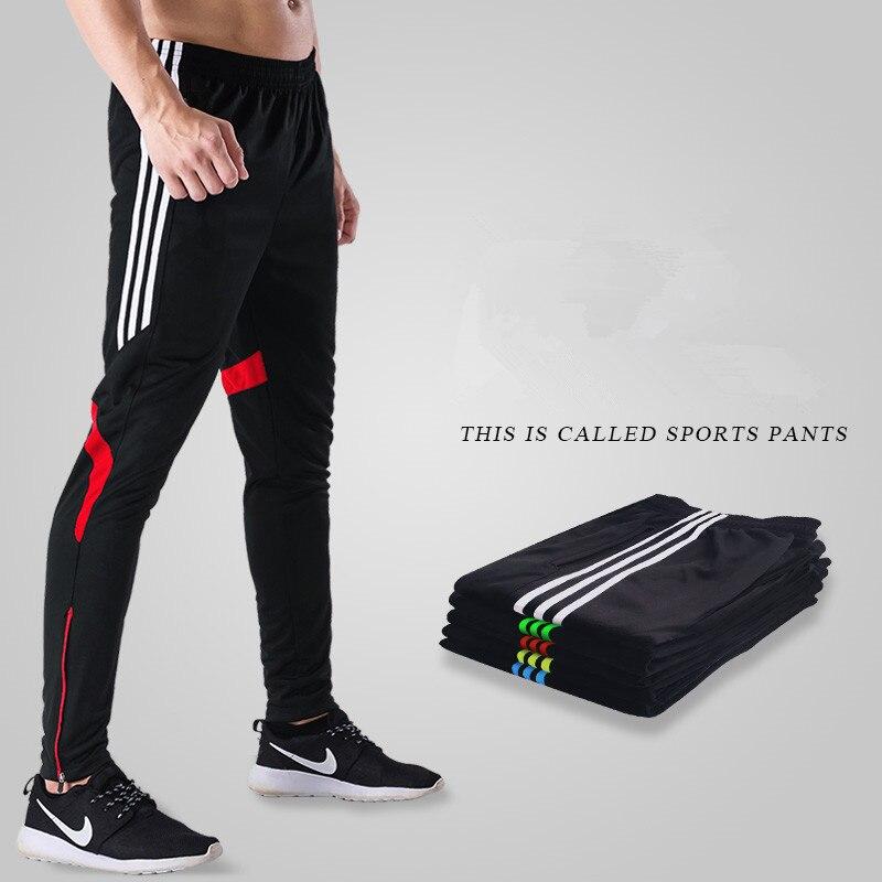 Hommes course Gym Sport Fitness jambières d'exercices Masculina Football Jogging Homme course entraînement pantalon noir pantalon 4xl grande taille