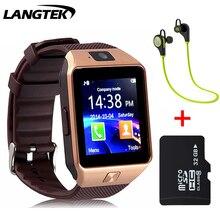 Dispositivos portátiles de smart watch dz10h bluetooth reloj para xiaomi teléfono android con tarjeta sim smartphone pkdz09 a1 smartwatch