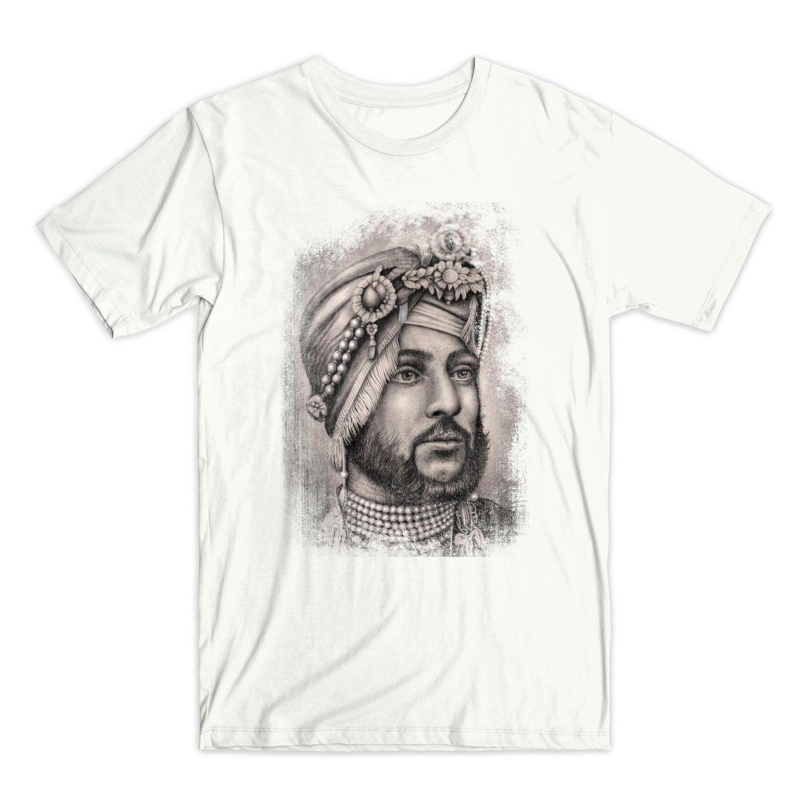 Maharaja Duleep Singh T Shirt Sikh Empire Indian Punjab Harajuku Tops t shirt Fashion Classic Unique free shipping