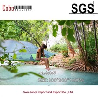 Multi Person Double Layer Hanging Hammock Triangle Hanging Tree Tent Portable Tree House Air Tent