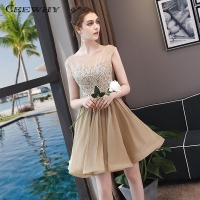 CEEWHY Open Back Short Cocktail Dresses Summer Vestidos Coctel Mujer 2018 Graduation Homecoming Dresses Mezuniyet Elbiseleri