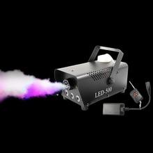 Nieuwe Afstandsbediening Led 500W Rookmachine Rgb Gemengde Kleur Fog Machine Professionele Rook Ejector Stadium Apparatuur Led Fogger