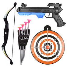 38 см мягкая пуля пистолет пластиковые Военная присоски утверждает вытачки дырочку пули dart-пулемет игрушечный пистолет с бантами и щиты