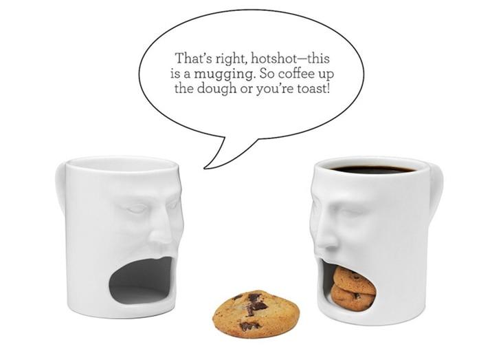 Coffee Mug With Cookie Pocket 8