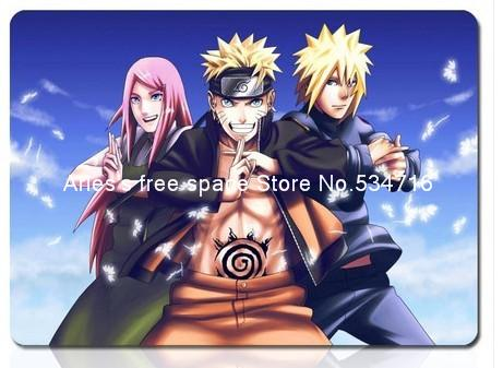 Naruto pad anime new personalized mousepad HD gaming mouse pad gamer large notbook computer mouse mat 8 size for gear mouse pad