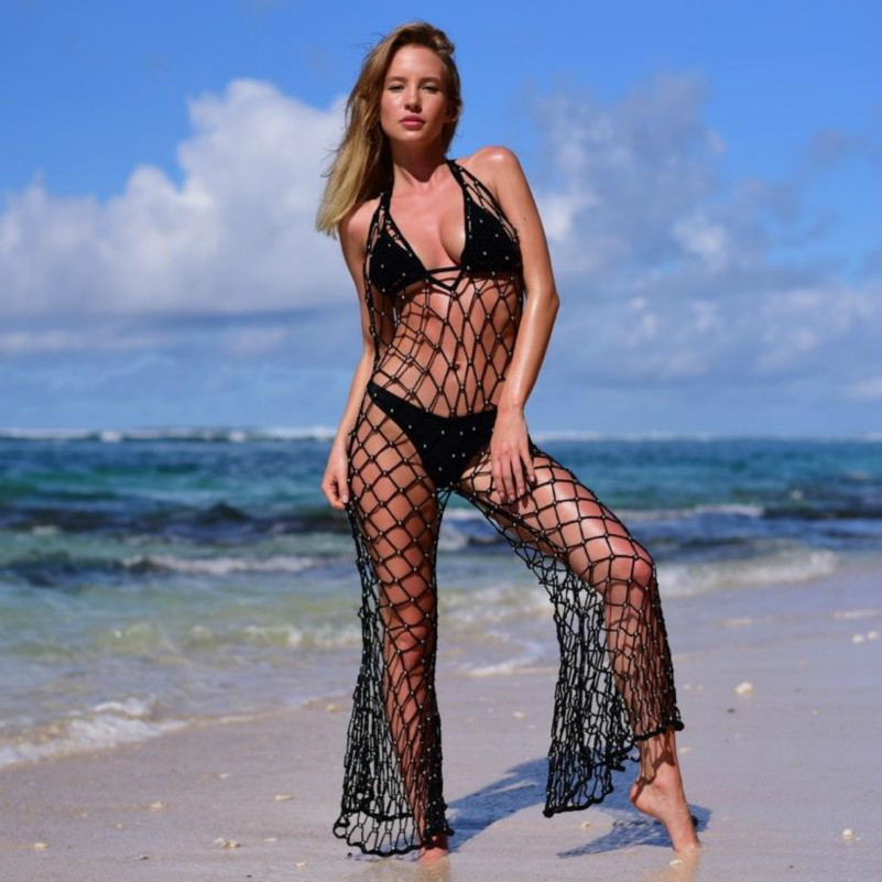 Woman Bodies Rompers Jumpsuit Mesh Neck Suits Body Backless Sexy Bodysuit white Black Femme Transparent Womens Combinaison V Fashion wznBvq