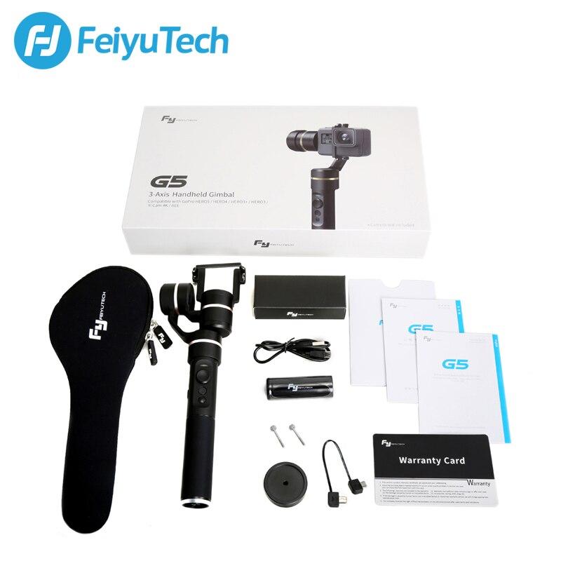 DIGITALFOTO FEIYU fy G5 3 оси ручной водонепроницаемый Действие Спорт Стабилизатор камеры Gimbal steadicam для xiaoyi gopro hero 5 4