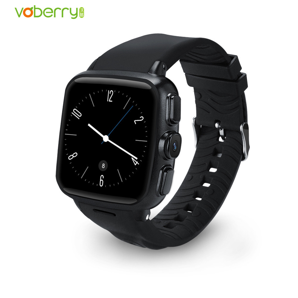 Smart Watch Android 5.1 Heart Rate Tracker GPS SIM 3G Smartwatch Phone 512MB RAM 4GB ROM Front Camera Dual Core Waterproof Watch smartch h1 smart watch ip68 waterproof 1 39inch 400 400 gps wifi 3g heart rate 4gb 512mb smartwatch for android ios camera 500