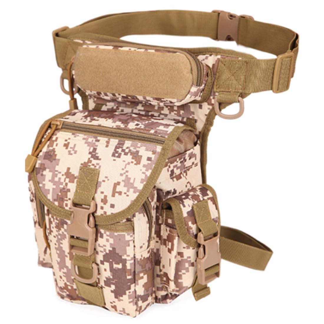 ARESLAND 2017 Unisex Military Waist Pack Väska Vattentäta Kvinnor - Bälten väskor - Foto 5
