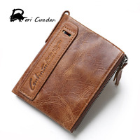 DERI CUZDAN Famous Brand Men Wallets Top Genuine Leather Male Clutch Purse 100 Cowhide Portfolio Mens