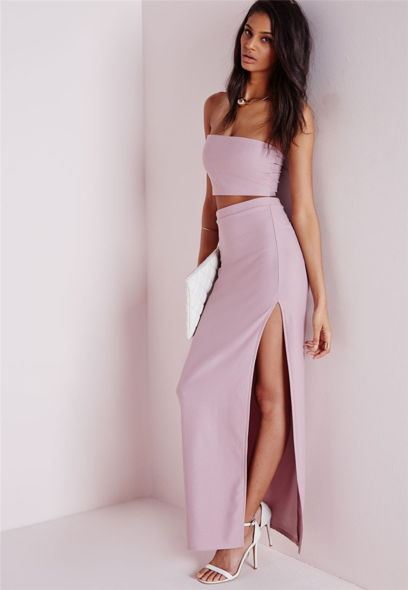 Strapless Long Maxi Dress – Fashion dresses