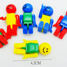 6 piece Plastic man Figure E1763 Kids Toys Novelty Party Favors Gift