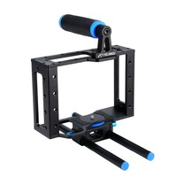 C1 DSLR Camera Cage Protecting Case Mount with Top Handle Grip Camera Photo Studio Kit camera rabbit cage stabilizer