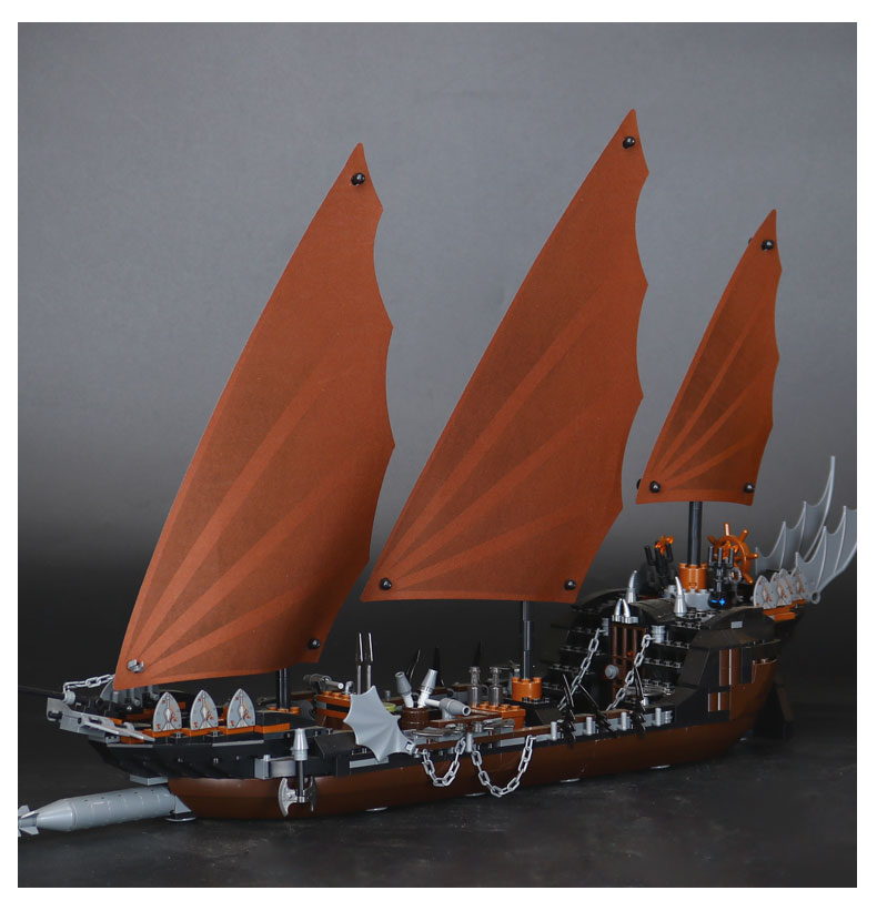 Lepin building blocks Genuine The lord of rings Series The Ghost Pirate Ship Set Bricks Toys 79008 Boat Model Kids Gifts 16018 single sale pirate suit batman bruce wayne classic tv batcave super heroes minifigures model building blocks kids toys gifts