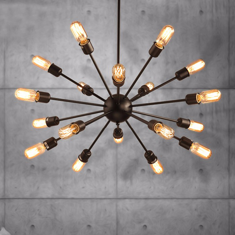 Luminaire suspendu industriel de poteau Vintage rétro luminaire suspendu pour la salle à manger