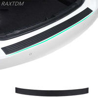 Car Rear Bumper Rubber Scuff Trim For Hyundai I30 IX35 IX45 Elantra Accent Solaris Verna Sonata