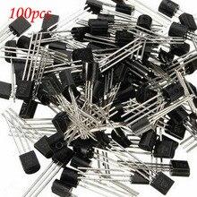 100 шт. S8550 8550 SS8550 TO92 PNP Биполярных Транзисторов-БЮТ 2 Вт/P TO-92 новый оригинальный