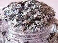 Solvent Resistant Glitter Mix for gel nail polish black and white flake glitter silver fine glitter for nail polish making G369
