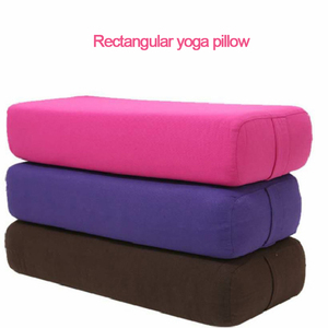 Cotton Cover Yoga Pillow High-