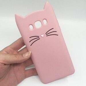 Силиконовый чехол для Samsung J7 2016, мягкий чехол для телефона с 3D рисунком из мультфильмов, для Samsung Galaxy J7 2016 j710, J710F, милый чехол с изображением кота в виде единорога
