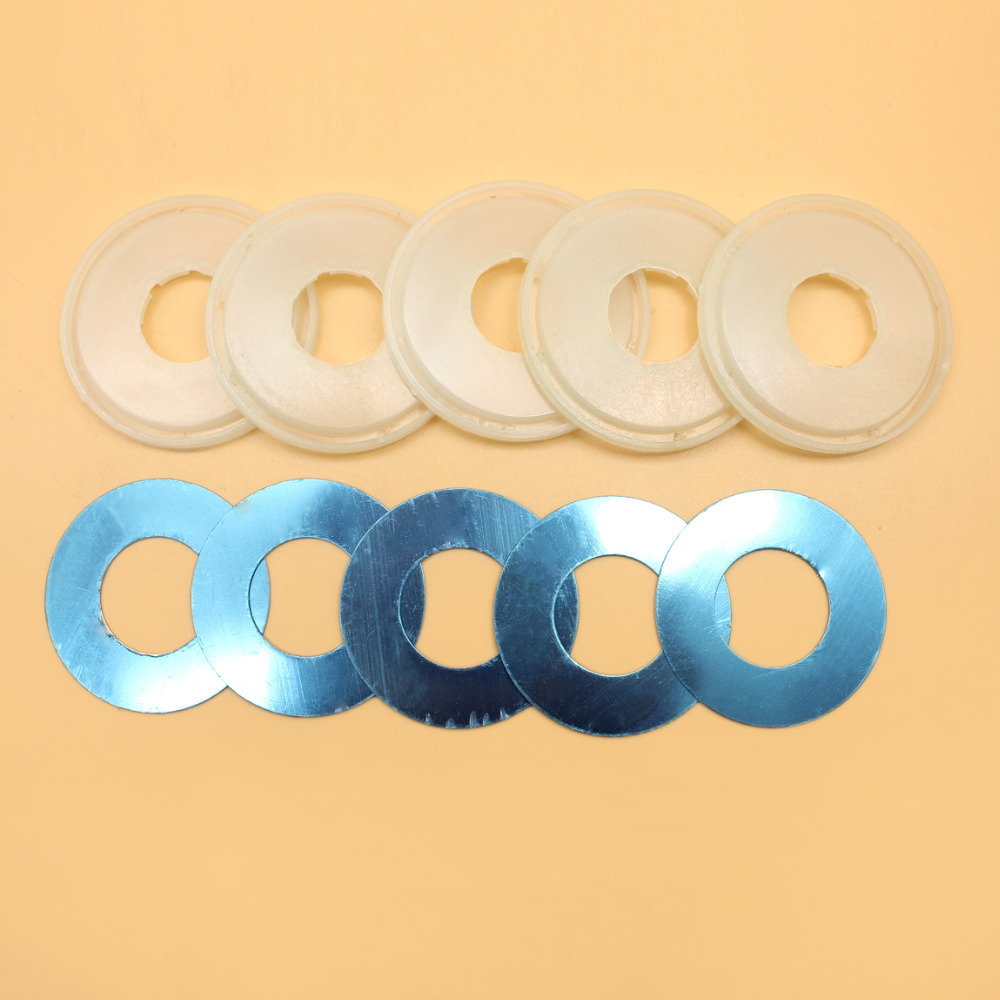 5Set Dust Shield Protection Cover Clutch Washer Kit Fit HUSQVARNA 61 66 266 268 272 XP 272XP Chainsaw Parts