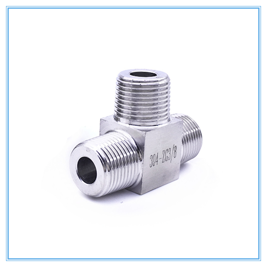 T Type Conversion High Pressure Fittings 1/8