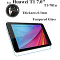 Mediapad T1-701 Glass Screen Protector For Huawei MediaPad T1 7.0 T1-701u Tempered Glass Screen guard For T1-701 Protect Films
