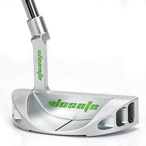 Image 2 - Клюшка для гольфа, Мужская правая 33 34 35 дюймов, Серебристый Стальной полукруглый вал, бесплатная доставка