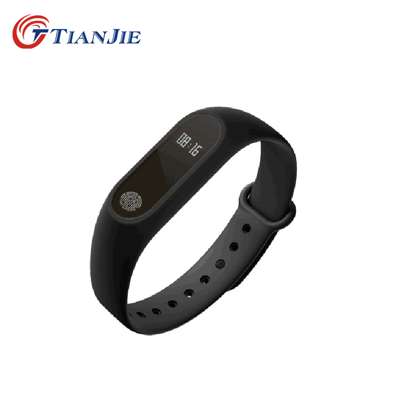 TIANJE M2 water proof pedometer Call and message reminder heart rate sleep monitor smart bracelet wristband PK mi band 2 3