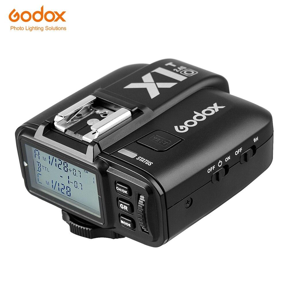 En stock Godox X1T X1T-O 2.4G sans fil Speedlite Flash transmetteur déclencheur pour appareils photo Olympus Panasonic