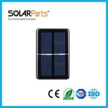 2pcs 60*90 1V/500mA mini epoxy resin solar panel solar module used for educational toys LED light