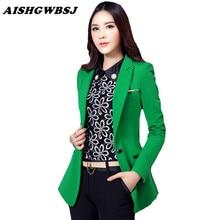 Suit One Button Slim Work Wear Blazer
