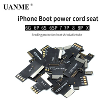 UANME DC Power Supply Phone Current Test Conector Board For iPhone 6G 6S Plus 7 7plus 8 8 Plus X Repair Connector Tools hisense hll 2600wd hlp 20a11 power board rsag7 820 1977 roh