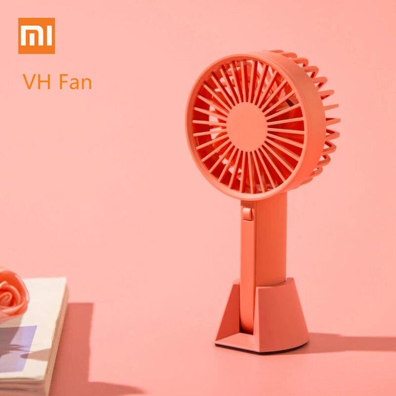 Small Air Conditioning Appliances Useful Outad Portable Mini Desk Fan Usb Desk Ventilador Fan Li-ion Battery Rechargeable Multifunctional Fan 3 Gear Mini Desk Fan