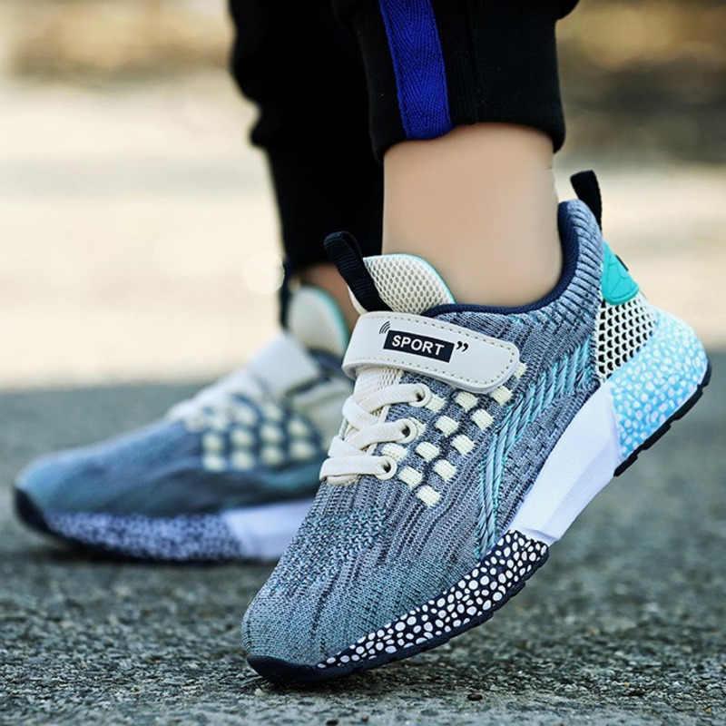Yaz çocuk spor ayakkabı askeri eğitim kamuflaj erkek spor ayakkabı ordu yeşil açık çocuk koşu ayakkabıları kızlar için eğitmenler
