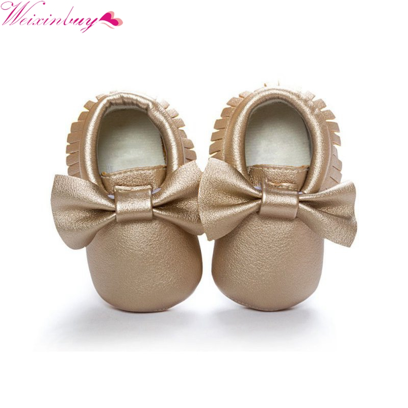 Mother & Kids ... Baby Shoes ... 32803459276 ... 5 ... Baby Shoes 2019 New Fashion Tassels Moccasin Boys Girls Toddler Soft Sole Crib Shoes Soft Bottom PU leather Pre-walkers Sneakers ...