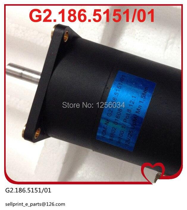 2 pieces free shipping motor for SM52 mahcine, motor for PM52 machine, heidelberg motor G2.186.5151/01