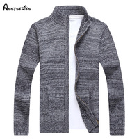 Free Shipping Luxury Men Winter Knitting Long Sleeve Cardigans Sweaters Quality Brand Cashmere Sweater Men M