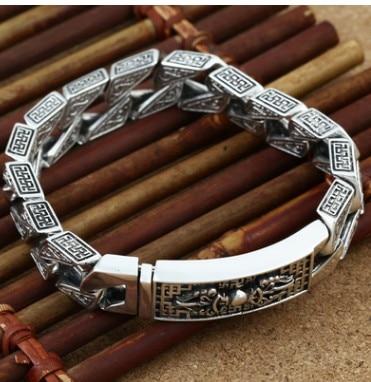 Grand bracelet homme bracelet homme 925 bracelet argent 21 cmGrand bracelet homme bracelet homme 925 bracelet argent 21 cm